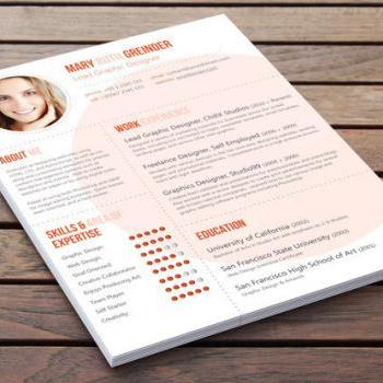 Creative Resume Design - The Big Shot